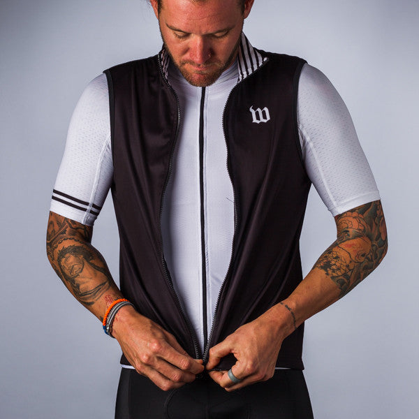 Men's Classics Black Thermal Vest