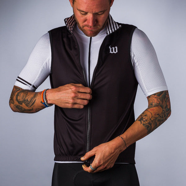 Men's Classics Collection Black Thermal Aero Vest