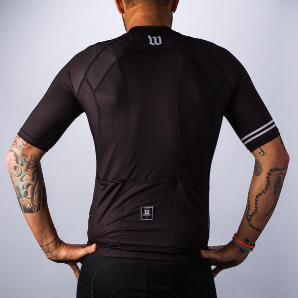 Men's Classic Collection Black Aero Jersey