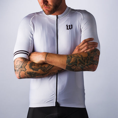 Men's Classic Collection White Aero Jersey