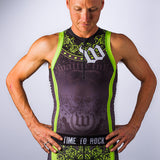 Men's Guns 'N Roses Aero Triathlon Top