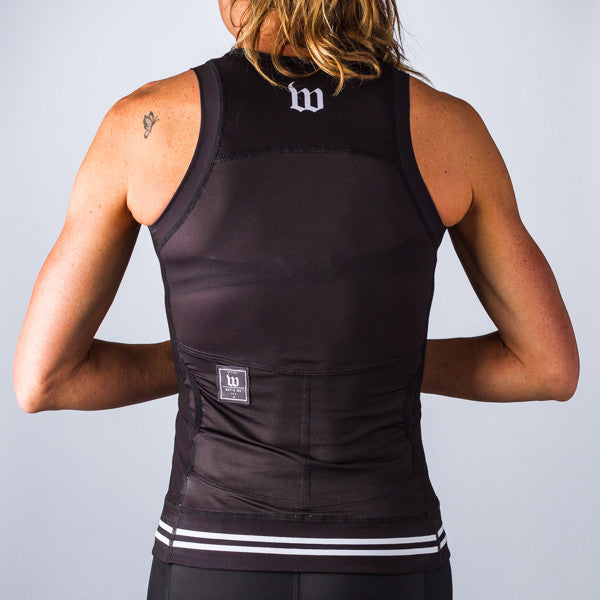 Women's Classic Collection Black Aero Triathlon Top
