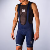 Men's Classics Collection Navy Aero Bib Short