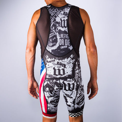 Men's American Punk Aero Bib Short