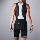 Women's Classics Collection Black Single-Strap Bib Short