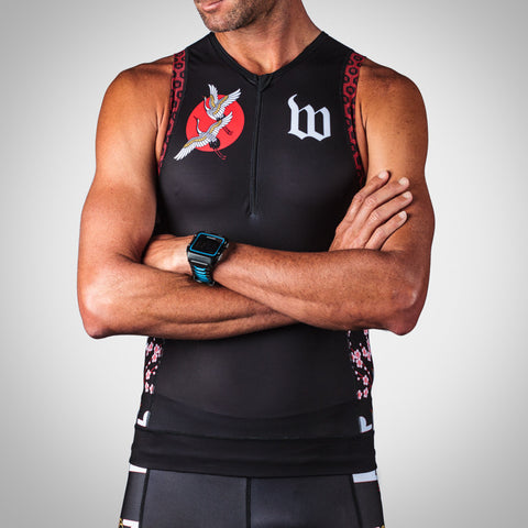 Men's Crane Collection Aero Triathlon Top