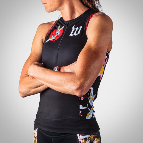 Women's Crane Collection Aero Triathlon Top