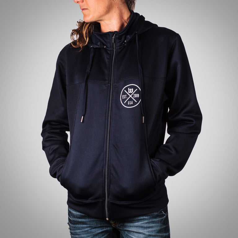 "The ""Hipster"" Women's Navy Transition Hoodie"