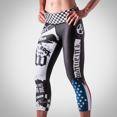 Women's American Punk Tights-hover