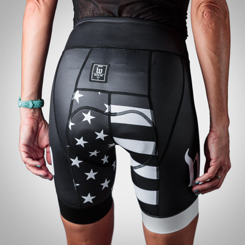 Women's Patriot Collection Aero Cycling Short