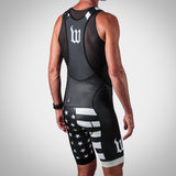 Men's Patriot Collection Aero Bib Short