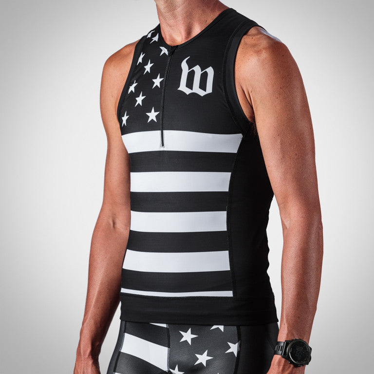 Men's Patriot Collection Aero Triathlon Top