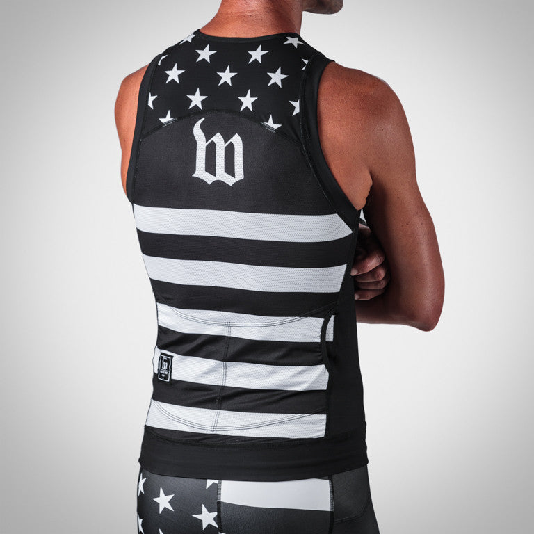 Men's Patriot Tri Top