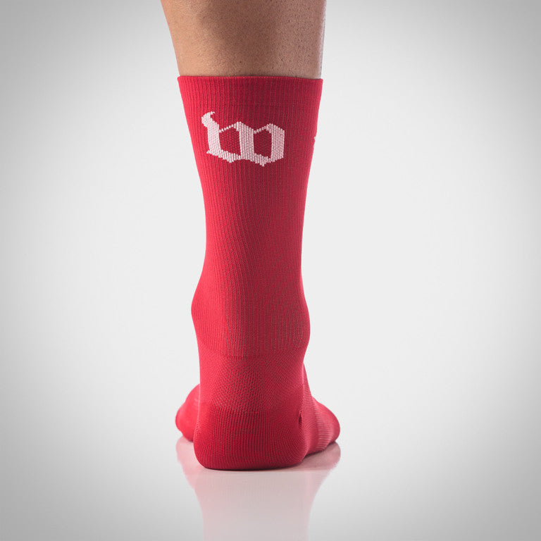 Wattie Ink. Classic Red Socks