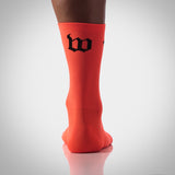 Wattie Ink. Neon Orange Socks
