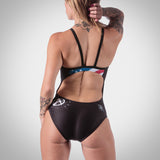 Women's American Punk One Piece Swimsuit
