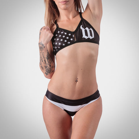 Women's Patriot Triangle Bikini Top