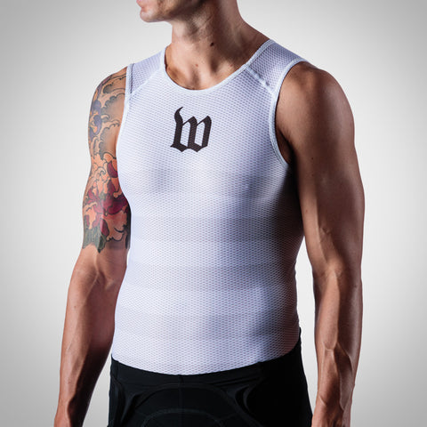 Men's White Base Layer