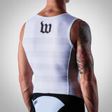 Men's Summer Base Layer - White Stripes