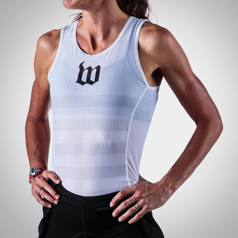 Women's White Base Layer