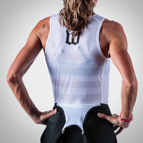 Women's Summer Base Layer - White Stripes