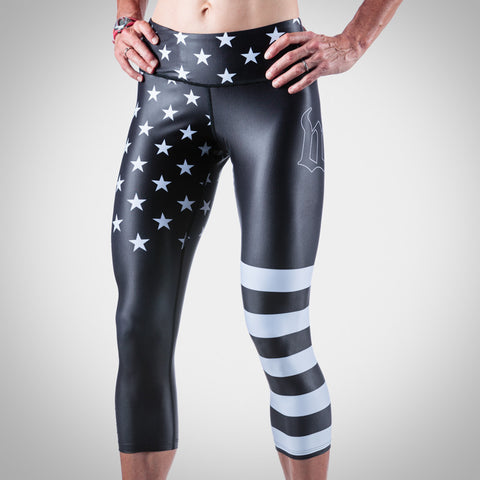 Women's Patriot Tights-hover