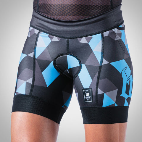 Women's Spectrum Collection Ocean Blue Aero Triathlon Short