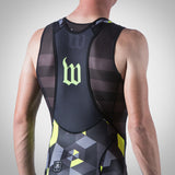 MEN'S SPECTRUM COLLECTION NEON YELLOW AERO BIB SHORT