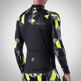 MEN'S SPECTRUM COLLECTION NEON YELLOW THERMAL LONG SLEEVE JERSEY