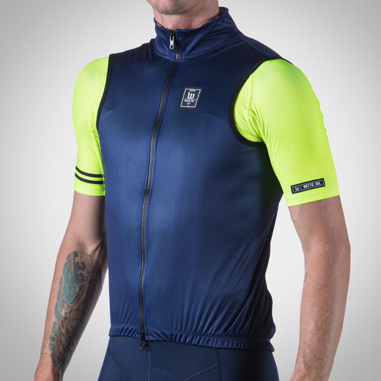 Men's Navy Contender Wind Vest