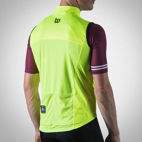 Men's Classics Collection Yellow Thermal Aero Vest