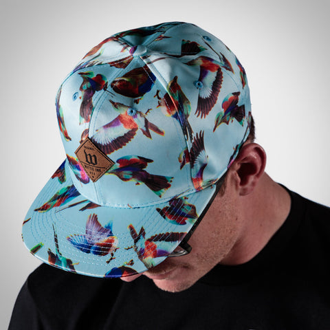 Blue FreeBird Snap-Back