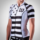 Women's White Patriot Collection Aero Jersey