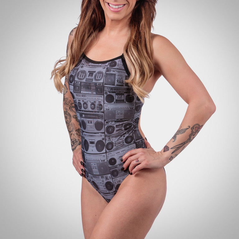 Women's BoomBox One Piece Swimsuit