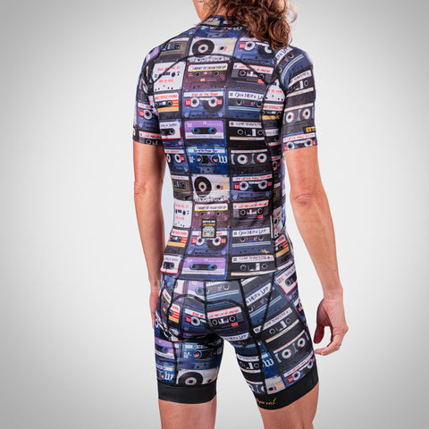 Women's MixTape Cycling Jersey-hover