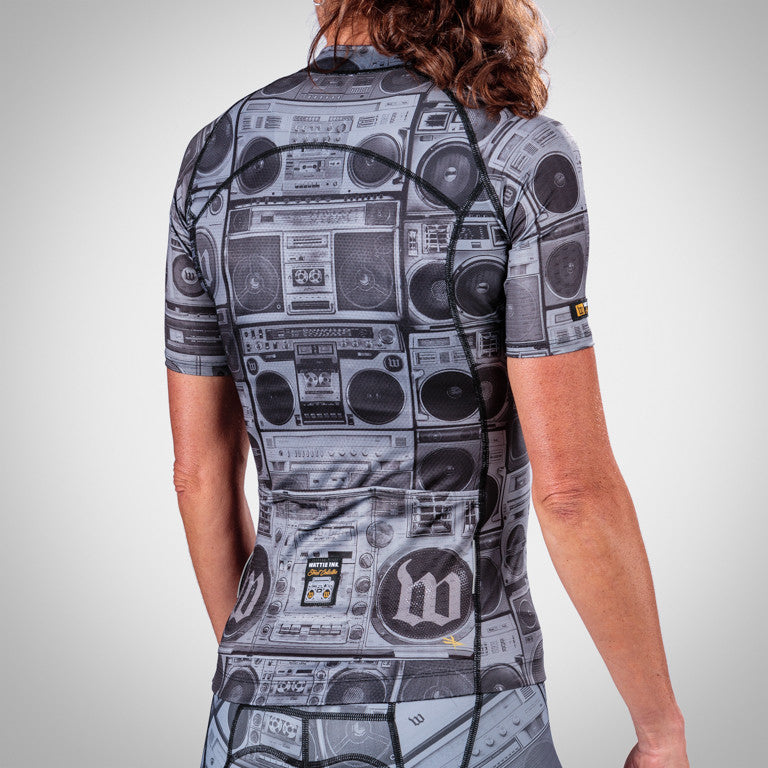 Women's BoomBox Cycling Jersey