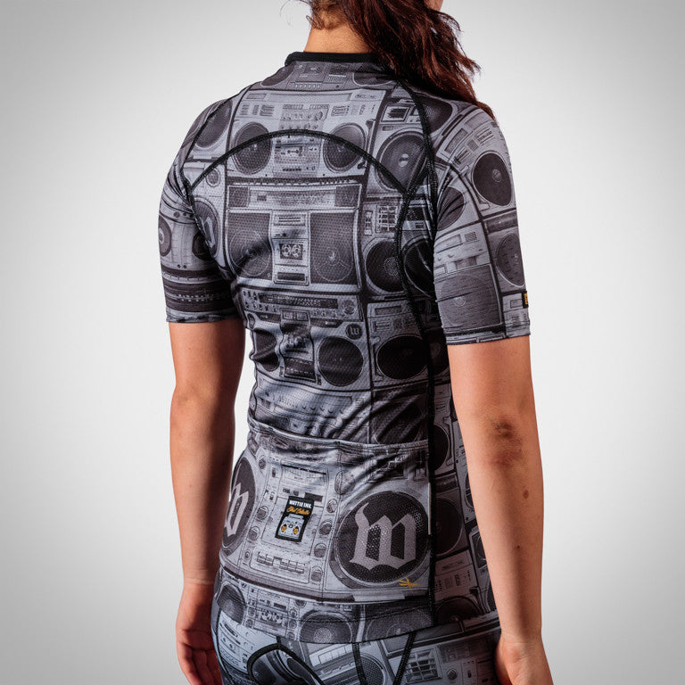 Women's BoomBox Aero Sleeved Triathlon Jersey
