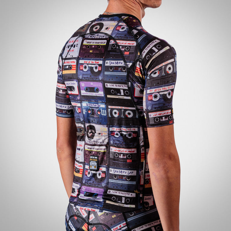 Men's Mixtape Tri Aero Jersey