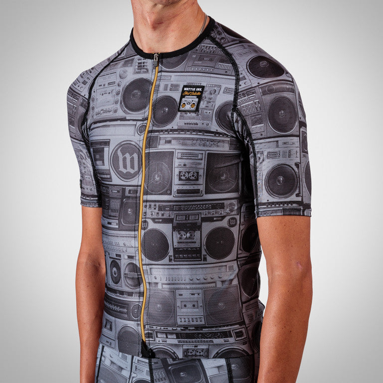 Men's BoomBox Aero Sleeved Triathlon Jersey