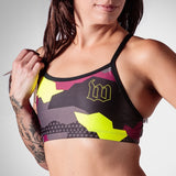 Women's Urban Assault Triple Threat Sport Top - Maroon/Yellow