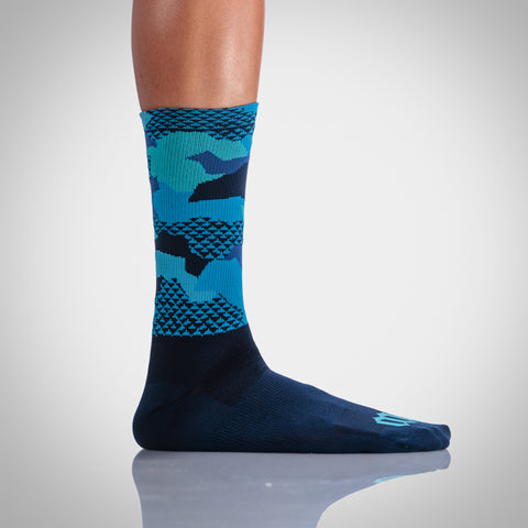 Urban Assault Socks - Hyper Blue