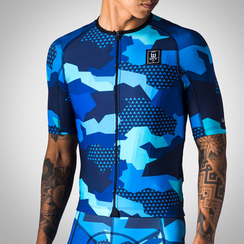Men's Urban Assault Aero Jersey - Hyper Blue