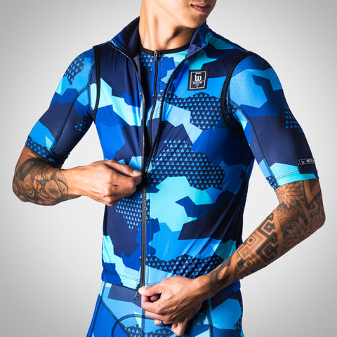 Men's Urban Assault Aero Wind Vest - Hyper Blue