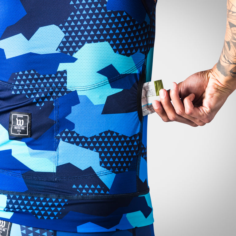 Men's Urban Assault Tri Top - Hyper Blue