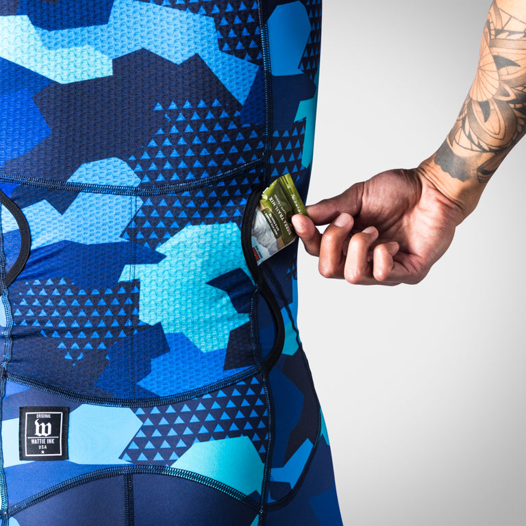 Men's Urban Assault Speedsuit - Hyper Blue