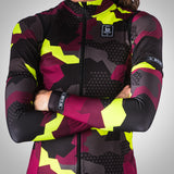 Urban Assault Arm Warmers -  Maroon/Flo Yellow