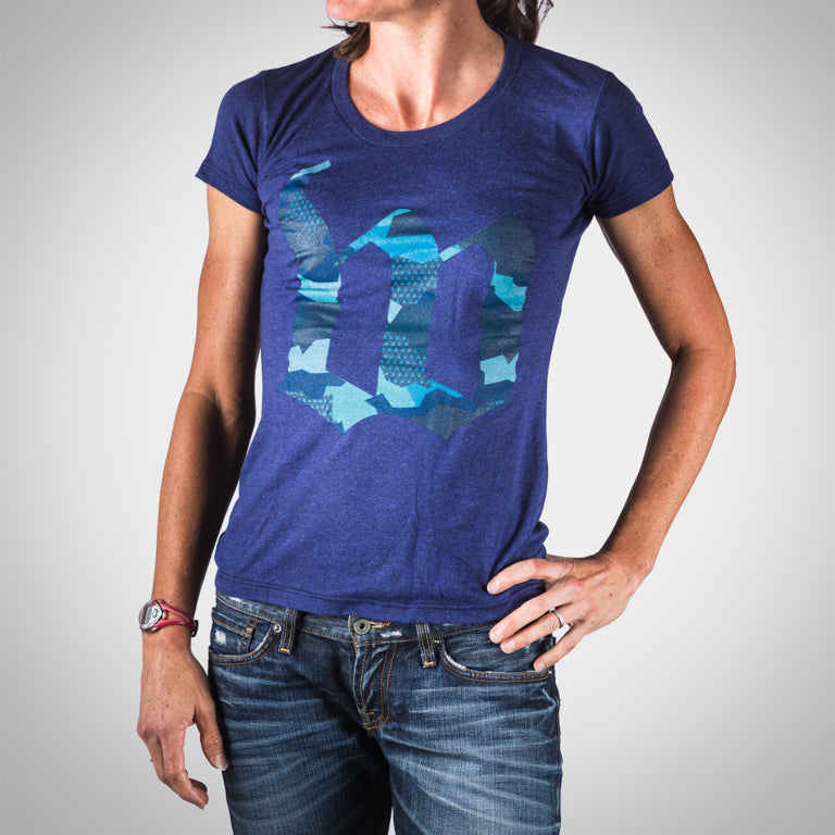 Women's Urban Assault Tee - Hyper Blue