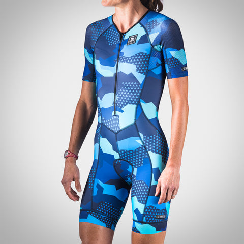 Women's Urban Assault Speedsuit - Hyper Blue