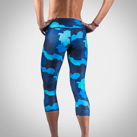 Women's Urban Assault Tights - Hyper Blue