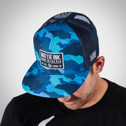 Urban Assault Trucker - Hyper Blue